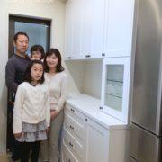 一戸建て/食器棚/オーダー  -東京都世田谷区-